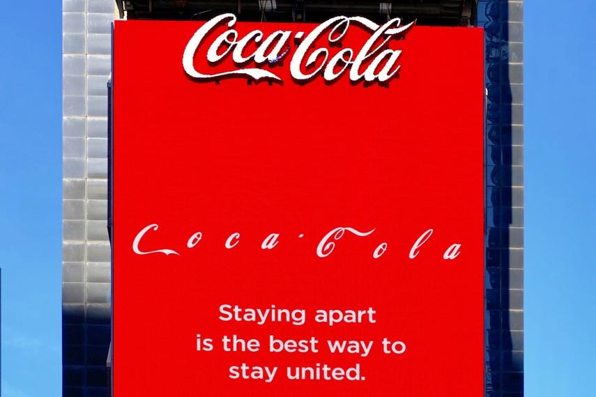 Coca Cola Social Distancing